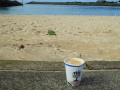Coffee at Tuncurry Rockpool