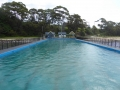 Looking back to shore at Ulladulla Sea Pool