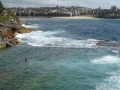 Beach behind Wylie's Baths at Coogee