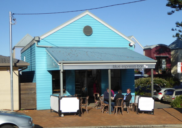 Blue Espresso Bar in Gerringong