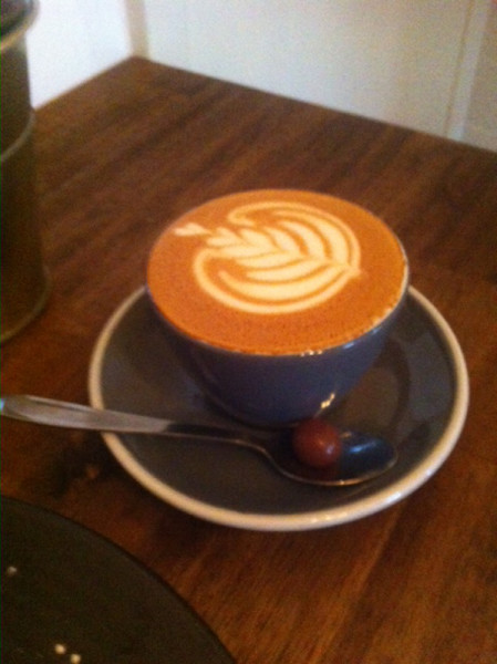 Coffee in Kiama at The Hungry Monkey