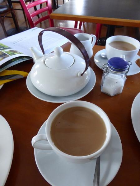 The Schoolhouse for tea in Gerringong