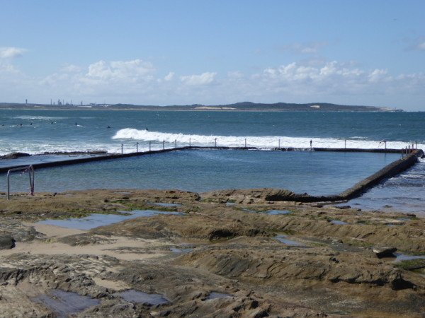 Cronulla North rock pool at low tide