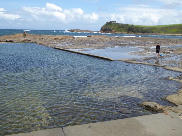 Gerringong Boat Harbour Rock Pool