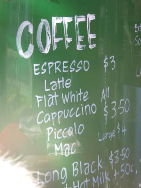 Bru Coffee in North Bondi