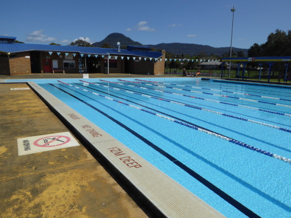 Western Suburbs Pool in Unanderra