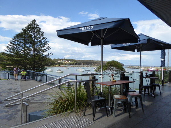 Coffee with great views in Ulladulla