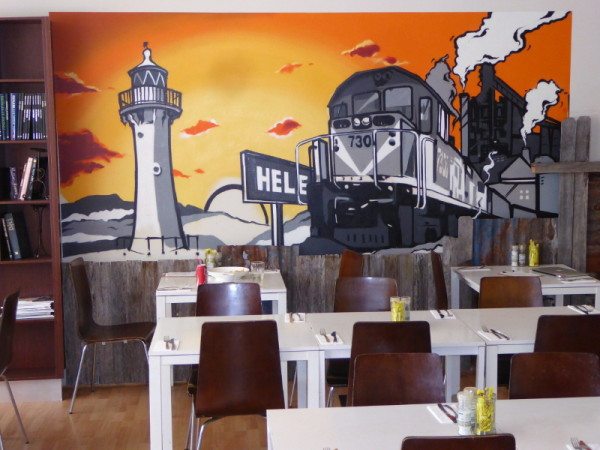 Rusty Wall Café in Helensburgh