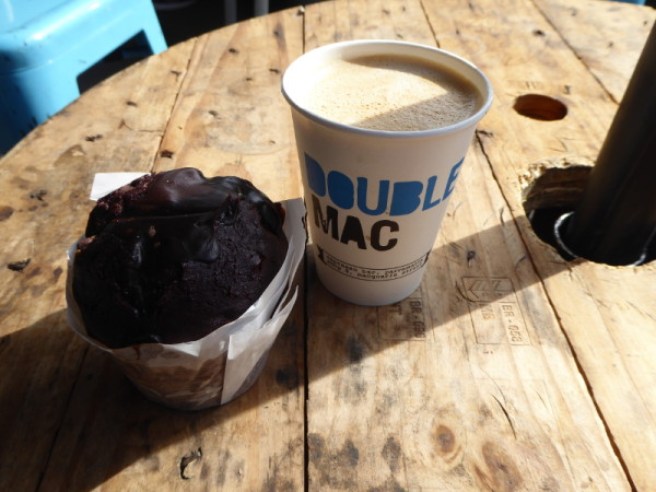 Coffee in Parramatta at Double Mac