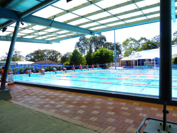 Gough Whitlam Aquatic Centre in Liverpool