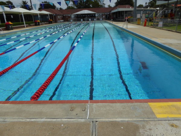 Enfield aquatic centre enfield nsw 2136 for How deep is a olympic swimming pool