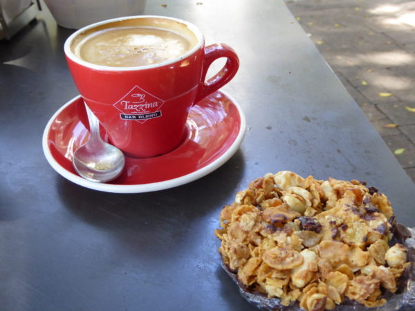 Coffee at Parsley Bay