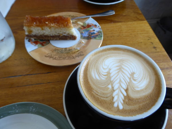 Coffee in Petersham